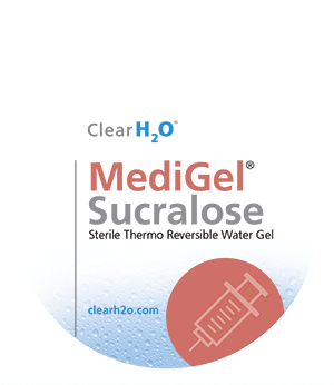 Product shot for MediGel Sucralose
