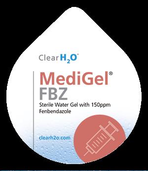 Product shot for MediGel FBZ